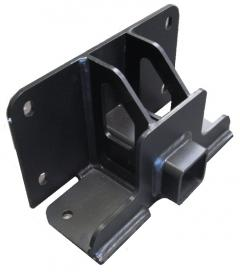 Trailer Hitch Front Receiver Hitch Black Hammerhead Armor