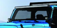 51.5 Inch LED Light Bar Double Row Straight Zilla Series Hammerhead Armor