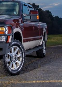 F-250-350 Running Boards For 99-16 Ford F-250-350 Crew Cab Short Wheel Base Bed Access Hammerhead Armor