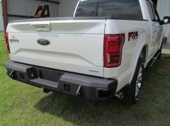 F-150 Rear Bumper With Sensors Eco-Boost For 15 to Current Ford F-150 Black Hammerhead Armor
