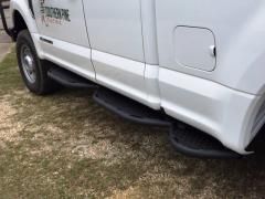 Ford F-150-350 Running Boards For 15-21 Ford F-150-350 Super Cab 6 Foot 10 Inch Bed With Bed Access Black Hammerhead Armor