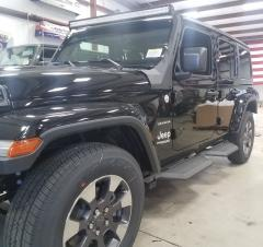 Jeep JL Running Boards 18-Pres Wrangler JL 4 Door Wrinkle Black X Series Hammerhead Armor