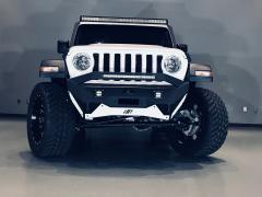 Jeep JL or Gladiator Stubby Front Winch Bumper Pre Runner For For 18-Pres Wrangler JL Ravager Series Hammerhead Armor