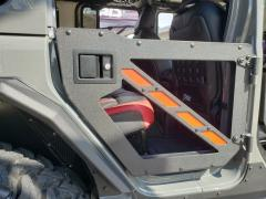 Jeep JL Half Doors Rear For 18-Pres Wrangler JL Unlimited and 2019 to Present Gladiator Black Hammerhead Armor
