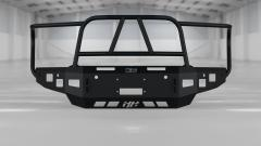 RAM Front Winch Bumper Full Grille Guard For 19 to Present  RAM 1500 Black Hammerhead Armor